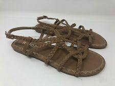 Report sandals womens Size 7 brown Gina slingback  strappy 1679