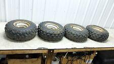 88 Suzuki LT 80 LT80 Quadsport Quad Sport wheels rims front and rear set tires