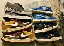 Nike Air force 1 Under Armour Reebok Airwalk Mens Shoes Size 10 And 10.5 4 pairs