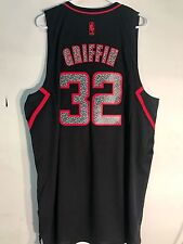Adidas Swingman NBA Jersey Clippers Blake Griffin Black Reverse Static sz XL
