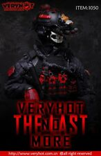 VERYHOT 1/6 THE LAST Tactical Suit CQB ZERT Black Clothing Sets No Body&Head