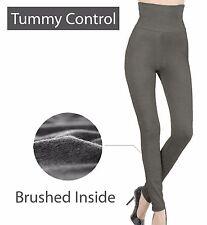 High Waist Tummy Control Fleece Warm Winter Thermal Legging Skinny Stretch Pants