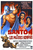 185052 santo vs vampir women Decor WALL PRINT POSTER DE