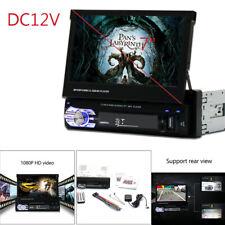 1DIN Car Audio USB Player Bluetooth 7