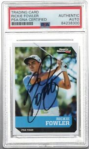 RICKIE FOWLER Signed Autographed 2016 SI For Kids Rookie Card RC Auto PSA/DNA 10
