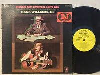 Hank Williams Jr Songs My Father Left Me VG+ PROMO YELLOW LABEL SUPER CLEAN
