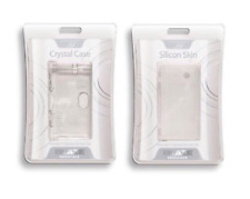 Blaze Nintendo DSi Protective Silicone & Hard Crystal Clear Case Cover Twin Pack