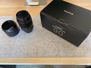 Fujinon XF 90 mm F/2 LM R WR Objektiv für Fujifilm