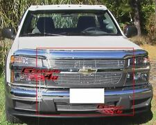 Fits 2004-2011 Chevy Colorado Billet Grille Combo