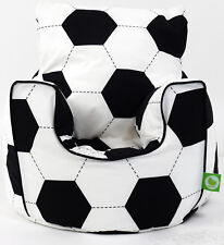 Cotton Football Bean Bag Arm Chair With Beans Toddler Size From BeanLazy