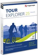 TOUR Explorer 25 Deutschland Gesamt, Version 8.0, DVD-ROMs Digitale Karten, To..