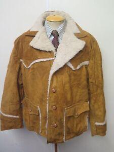 "Vintage Schott NYC Western Rancher Suede Jacket / Coat XL 48"" Euro 58"