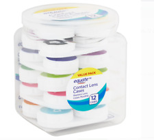 Equate Contact Premium Quality 12 COUNT Lens Case VALUE PACK