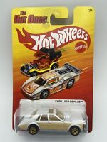 Hot Wheels Cadillac Seville The Hot Ones White/Gold 1/64 Scale FREE SHIPPING