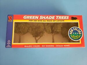 Vintage Life Like Trains Green Shade Trees NEW In Box item # 1921
