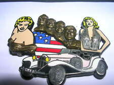 PIN'S PIN UP / MARYLIN MONROE /JOHN KENNEDY  AUTRES PRESIDENTS USA/ TRIPLE MOULE