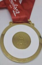 Most Selling 2008 Beijing 2008 Olympic 'Gold' Medal+ Ribbon Original Heavy Size