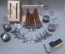 PRO 8 effetto trama MARTELLI 10 miniature & 4 Anvil posta in gioco la progettazione Jewelry Repousse