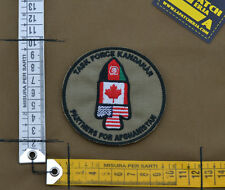 "Ricamata / Embroidered Patch ""Task Force Kandahar"" with VELCRO® brand hook"