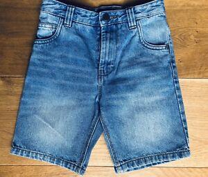 NEXT Denim Jeans Shorts / Kurzehose ★ Gr 122-128 (7Y) ★ wie NEU ★ 100% Baumwolle