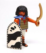 Playmobil Figure Egyptian Soldier w/ Gold Sword Shield 4245