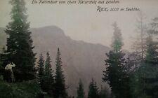 Austria Antique Postcard 1906 Kaisersteig Bald Wall Rax Mountains Rare
