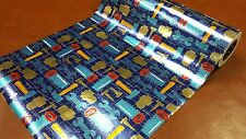 Half ream 24 inch wide Hardware and tools foil gift wrap 417 feet