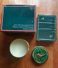 Avon The Gamesman Gift Set-Playing Cards &