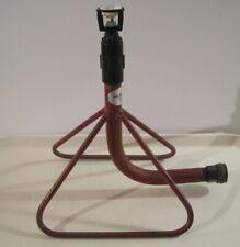New listing Great Vintage Lawn Sprinkler Hose Connect Senninger Usa Wobbler Head Metal Base