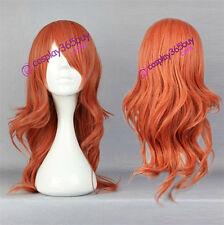 Final Fantasy 13 Oerba Dia Vanille cosplay wig long wavy wig women's wig