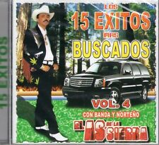 El As De La Sierra 15 Exitos Mas Buscados Vol 4  CD New Sealed