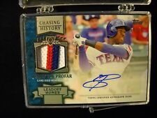 2013 TOPPS UPDATE JURICKSON PROFAR AUTO RELIC 3 COLOR PATCH RED/WHITE/BLUE TEXAS
