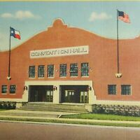 Mineral Wells Convention City Southwest Vtg Postcard Litho America Drinks Wealth