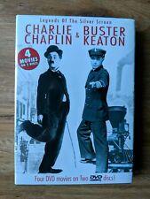 (1A3) Buster Keaton / Charlie Chaplin: The General / Steamboat Bill Jr.