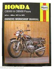 """Honda Cb 500 K1 """"cuatro"""" 1972 Haynes Manual"""