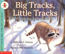 BIG TRACKS LITTLE TRACKS Let's Read And Find Out Science Stage 1 Homeschool
