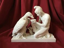 Eagle Statue with Ganymede (Cupbearer) - MADE IN EUROPE (26cm /10.2 inch)