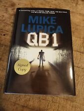 QB 1 by Mike Lupica (2013, Hardcover) SIGNED 1st/1st Football