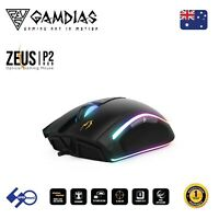 Gaming Mouse RGB Light 16000 DPI for PC Computer with 8 smart key Gamdias ZEUSP2