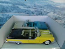 1/43  New Ray 1955 Oldsmobile super & 1955 Pontiac starchief set