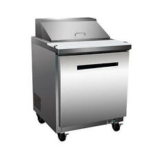 Maxx Cold Mxcr-29S, X-series 29x30x43-Inch Refrigerated Sandwich/Salad Unit, 7 C