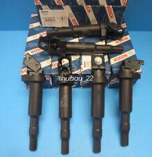 6 BMW Ignition Coils W. Spark Plug Connector OEM BOSCH 0221504470