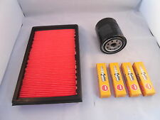 Service Kit To Fit Nissan 300ZX 3.0 Turbo Oil + Air Filter Spark Plugs 1990-1994