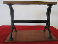 WESTERN, COUNTRY STORE WOOD & CAST IRON PAPER DISPENSER