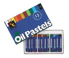 Standard Oil Pastels Pack of 12 Non-Toxic plus Storage Tray
