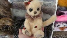 OOAK / ARTIST Cinnamon the cat - By Ladybug Bears