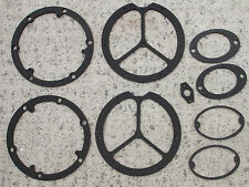 Ford Consul Cortina Mk1 Front & Rear Light Unit Gasket Set   Saloon  New .