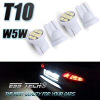 Ampoule led auto T10 W5W 5 Pcs veilleuse plaque coffre 8 SMD 5050 Blanc ESS TECH