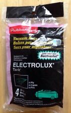 Four (4) Electrolux Tank Vacuum Cleaner Bags, Style 3020 Bag, Bactrastat, New