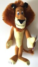 "Madagascar 3 ALEX the LION 15"" Licensed Plush Stuffed Animal .NEW. Dreamworks."